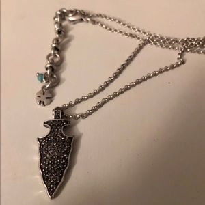 Lucky Brand Spearhead Necklace